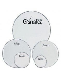 """Parche de 8"""" para ajas y tambores blanco Gonalca"""