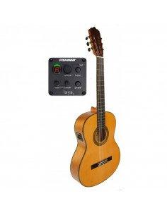 José Gómez C320.590EQ Guitarra flamenca amplificada Fishman