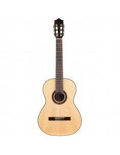 Martínez ES04S guitarra clásica de abeto macizo brillo
