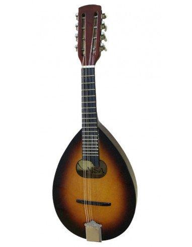 Mandolina MSA 8 cuerdas difuminado dos colores Oferta !!