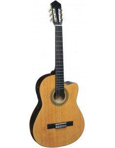José Ribera CK112 guitarra clásica amplificada y cutaway