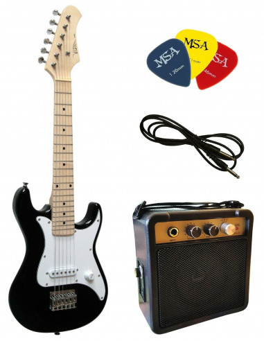 Set Pack guitarra eléctrica EK300 junior 3 a 7 años