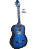 Set Pack guitarra clásica adulto 4/4 + 5 accesorios