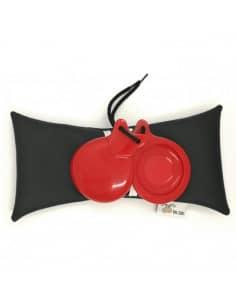 Castañuelas del Sur modelo Concierto Roja Doble Caja