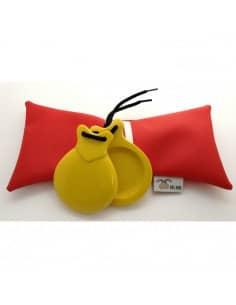 Castañuelas Concierto Amarilla