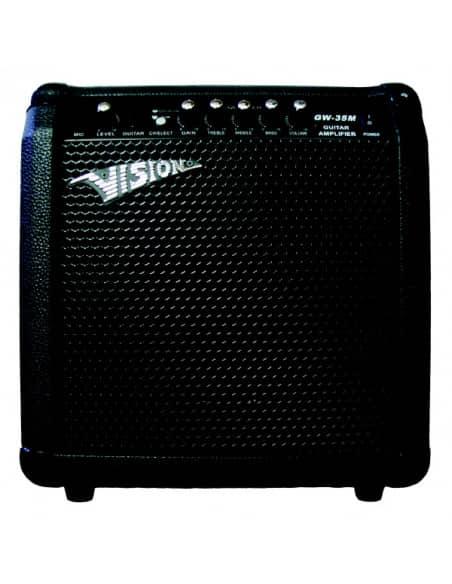 Amplificador guitarra 60W(30RMS) GW 35-M con entrada microfono