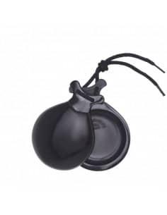 Castañuelas Vidrio Negro - Especial Profesores