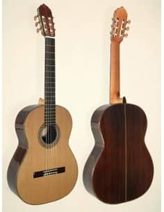 Azahar 145 Guitarra Clásica-Flamenca Profesional artesanal