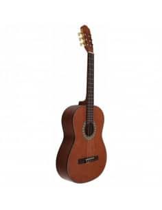 José Gómez C320.202C Brillo Guitarra Clasica de Sapeli Tapa Oscura Tatay
