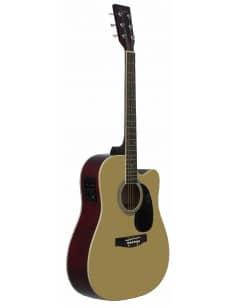 Daytona A411CENA guitarra acústica amplificada natural