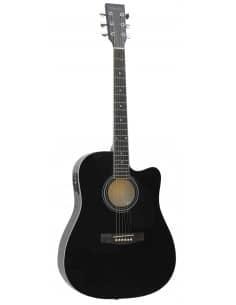 Daytona A411CEBK guitarra acústica electrificada Dreadnought