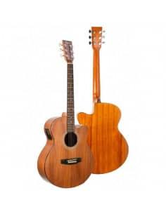 Daytona A401CEKOA guitarra acústica electrificada Koa