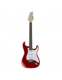AUSTIN AST100R Rojo guitarra strato
