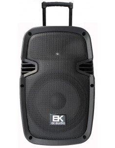 "EK AUDIO M20PB12P Bafle activo amplificado portátil recargable 12"" 240W"