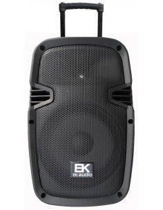 "EK AUDIO M20PB15P Bafle activo portátil recargable 15"" 320W micros incluidos"