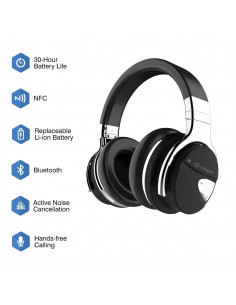 E7 MR Auriculares Bluetooth con ANC Alta fidelidad