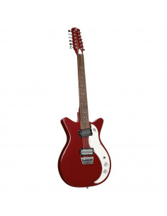 Danelectro 59X12 Blood Red guitarra 12 cuerdas