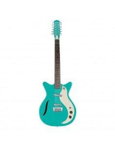 Danelectro VINTAGE 12 Dark Aqua guitarra 12 cuerdas