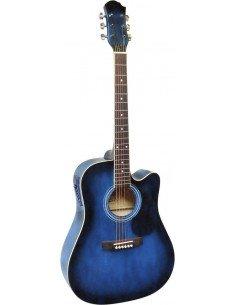 Guitarra Acustica Electrificada 6 cuerdas EQ 3 bandas