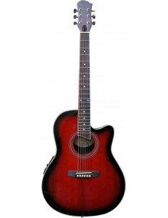Guitarra electro-acústica formato Ovation - Ecualizador 4 bandas