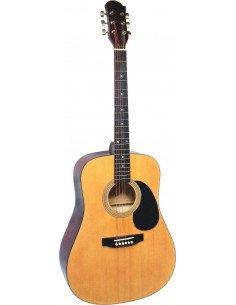 Guitarra acústica MSA acabado natural