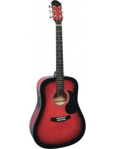 Guitarra acústica de iniciación MSA tipo dreadnought