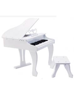 Elegant Piano de cola eléctrico Infantil Blanco