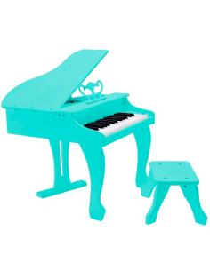 Piano infantil de cola azul con banqueta incluida PP30KBL