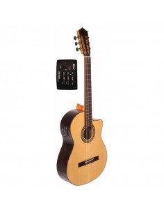 José Gómez C320.204EQ guitarra clásica amplificada