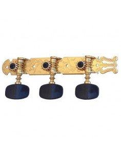 Clavijeros guitarra clásica y flamenca Baffin C300.080N
