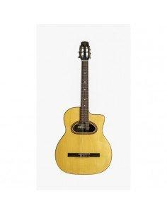 Guitarra Híbrida Clásica-Acústica Altamira Gipsy M01D Macca CC