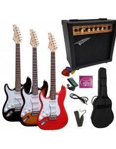 Set Pack Guitarra Eléctrica Zurda Stratocaster