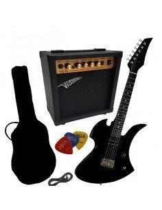 Pack Guitarra electrica Niños Amplificador 20W Accesorios