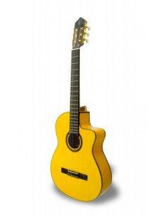 APC 5F CW Guitarra flamenca amplificada cutaway