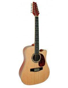 Guitarra acustica MSA de 12 cuerdas CW 1100-NT barata ofertas