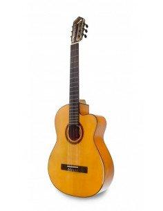 APC 9F CW guitarra flamenca maciza ciprés amplificada