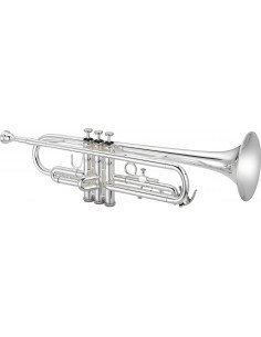 Jupiter JTR500SQ trompeta Sib plateada