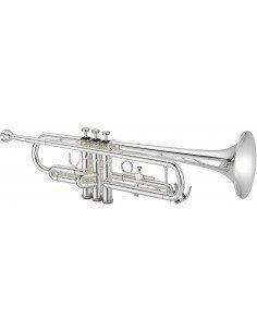Jupiter JTR700SQ trompeta plateada Sib