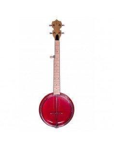 Banjolele 5 Cuerdas Bones BB500-R Rojo