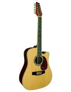 Guitarra Electroacustica  12 cuerdas EQ 3 bandas
