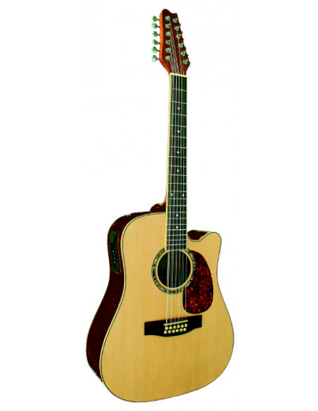 Guitarra Electro acustica 12 cuerdas EQ 3 bandas