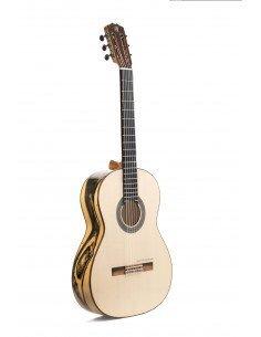 Prudencio Sáez 37 3FL guitarra flamenca ébano blanco