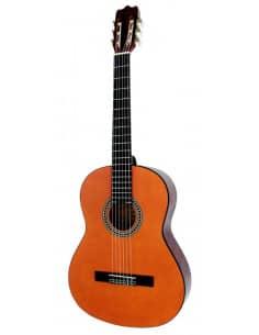 Guitarra Clásica K7-L  Miel 1/4 para Niños Zurdos.