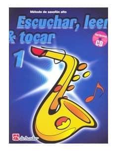"""METODO """"ESCUCHAR, LEER Y TOCAR PARA SAXO ALTO VOL 1"""" EDIT. BOERSTOEL Y KASTELEIN - OFERTA"""