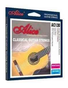 Juego de Cuerdas Alice para Guitarra Clásica AC130-N - Venta online