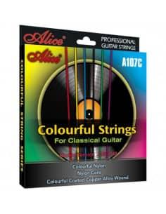 Juego de Cuerdas Alice para Guitarra Clásica A107-C - Venta online