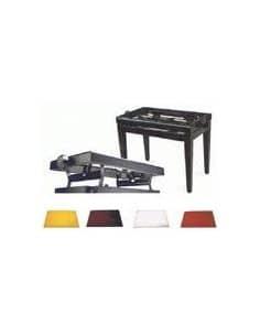 Banqueta de Piano de Madera con Tapa Intercambiable