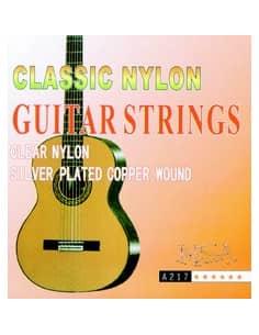 Juego de 6 cuerdas MSA para guitarra Clásica 0.28 - 0.43