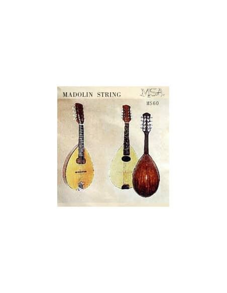 Juego de 8 cuerdas MSA Mandolinas