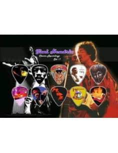 Púas para coleccionistas de Jimi Hendrix